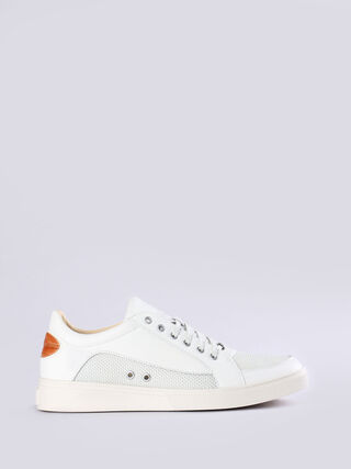 S-GROOVE LOW, Blanc