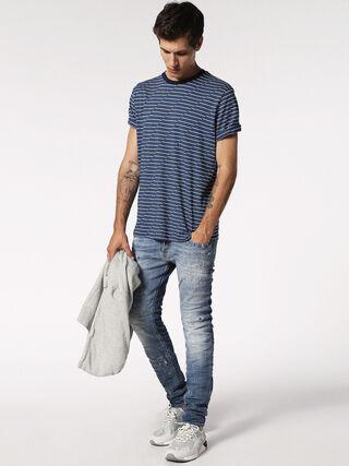 T-ALANIS, Bleu/blanc