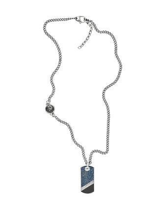 NECKLACE DX1030, Jean bleu
