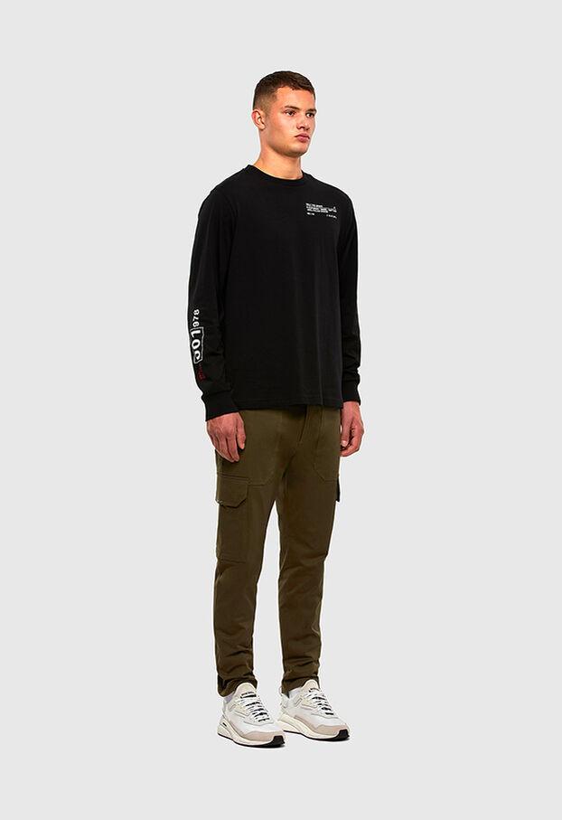 P-BAKER-SLIM, Vert Militaire - Pantalons