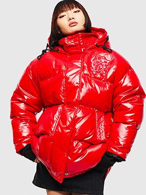 CL-W-ALLA-LITM, Rouge - Vestes d'hiver