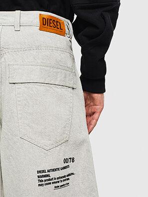 D-RON, Blanc - Shorts