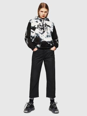 S-ALBY-Y, Noir/Blanc - Pull Cotton