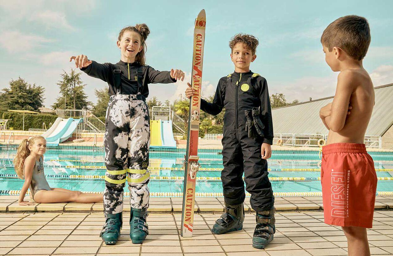 PJFRIZ-SKI, Blanc/Noir - Equipement de ski