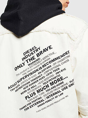 D-KURTIS, Blanc - Chemises en Denim