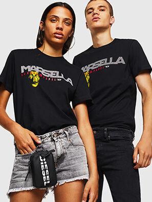 LCP-T-DIEGO-MARSELLA, Noir - T-Shirts