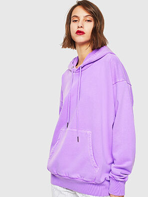 S-ALBY-FLUO, Lilas - Pull Cotton