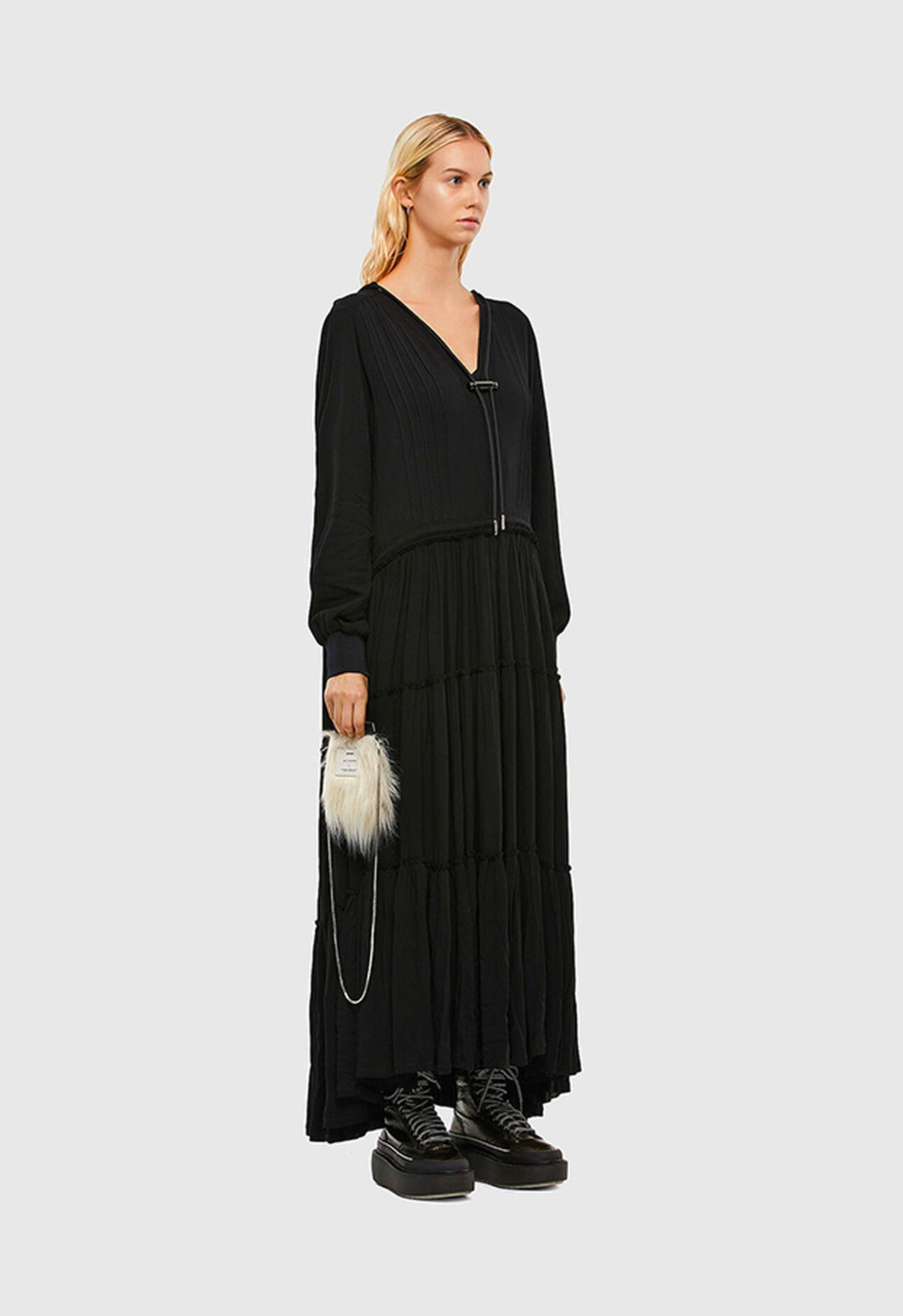 D-LINDA, Noir - Robes