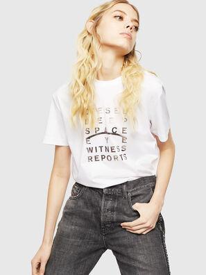 T-DIEGO-J8, Blanc - T-Shirts