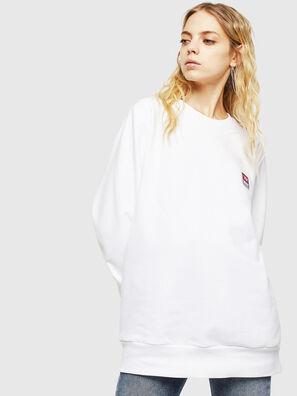 S-GIR-DIV-P, Blanc - Pull Cotton