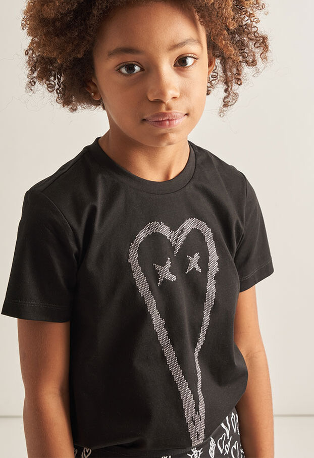 TSILYHEART, Noir - T-shirts et Hauts