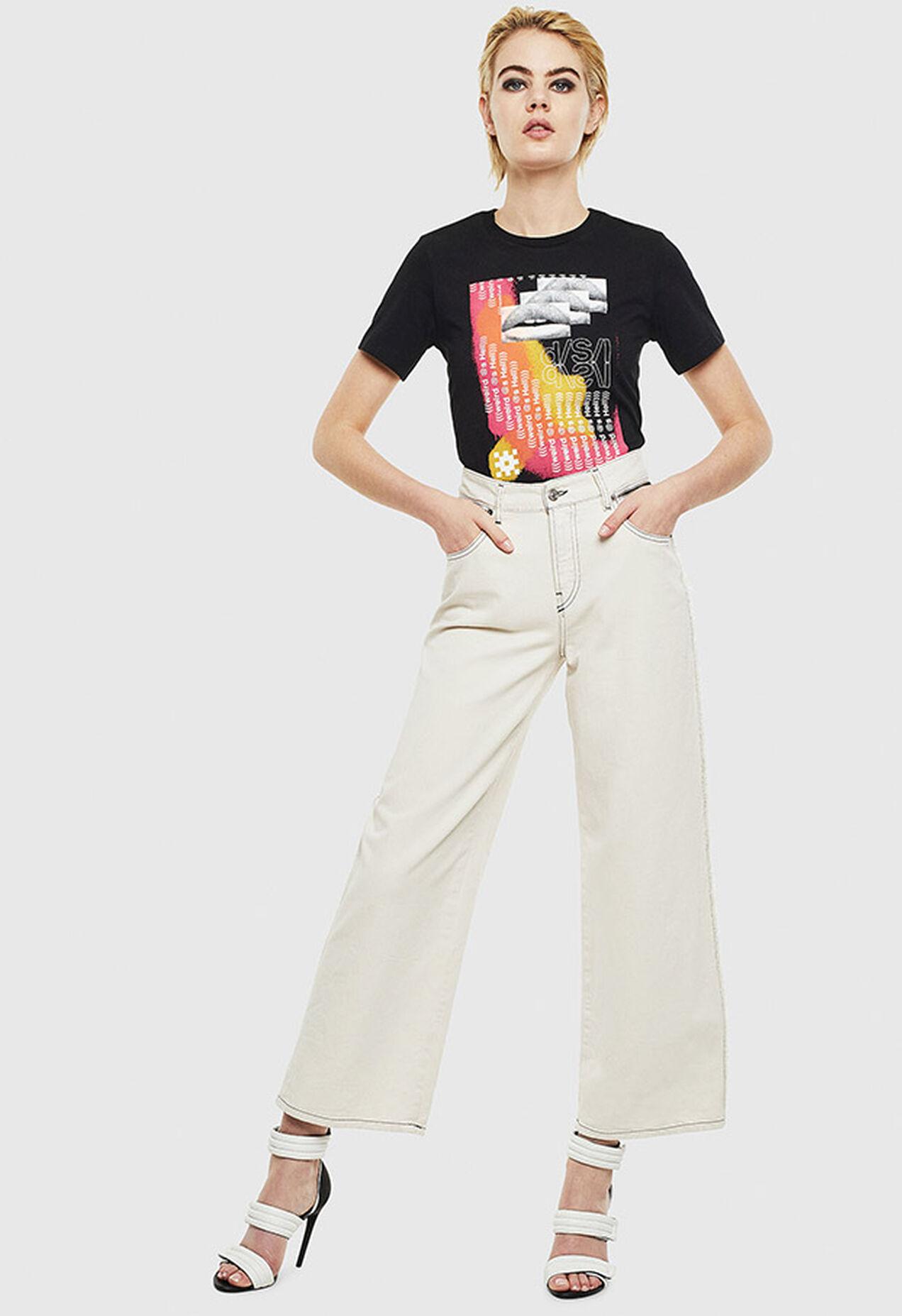 T-SILY-S5, Noir - T-Shirts