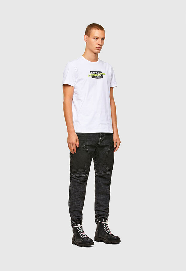T-DIEGOS-A3, Blanc - T-Shirts