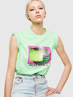 T-JUST-NEON-S1, Vert Fluo - T-Shirts