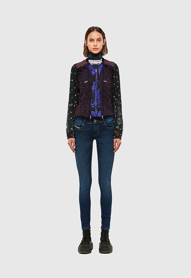 Slandy Low 069PX, Bleu Foncé - Jeans