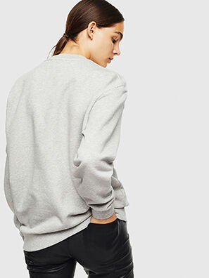 S-LINK, Gris Clair - Pull Cotton