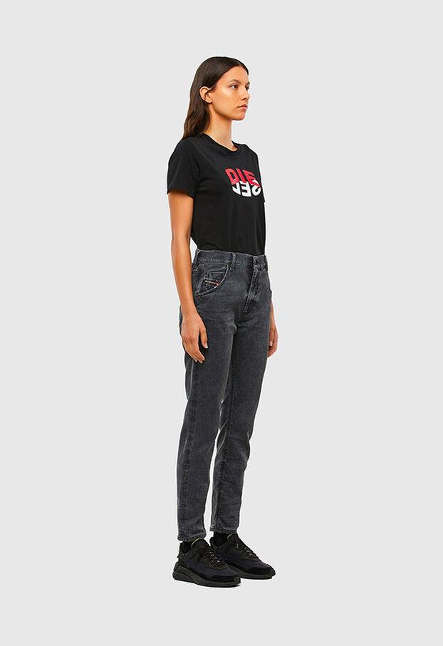 Krailey JoggJeans 069QB, Noir/Gris foncé - Jeans