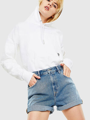 S-ALBY-POCKETS, Blanc - Pull Cotton