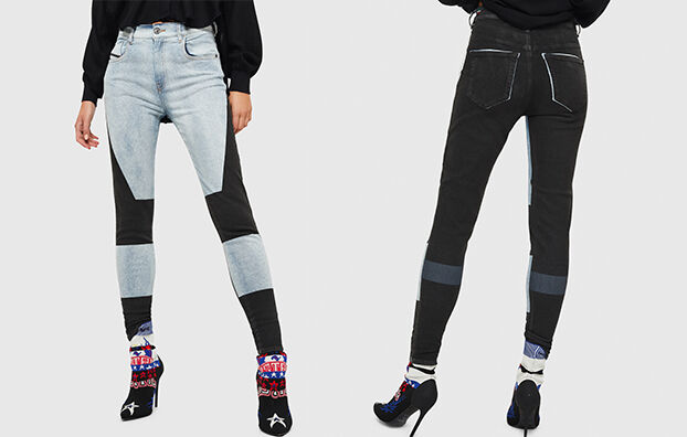 Slandy High 0890M,  - Jeans