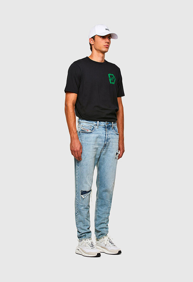 D-Vider 009JR, Bleu Clair - Jeans