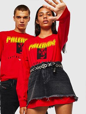 LCP-T-JUST-LS-PALERM, Rouge - T-Shirts