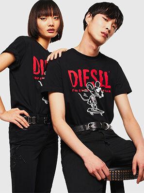 CL-T-DIEGO-1, Noir - T-Shirts