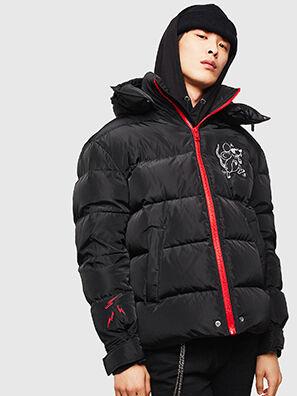 CL-W-SMITH-LITM, Noir - Vestes d'hiver