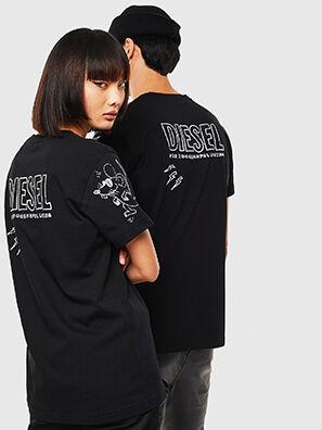CL-T-DIEGO-3, Noir - T-Shirts