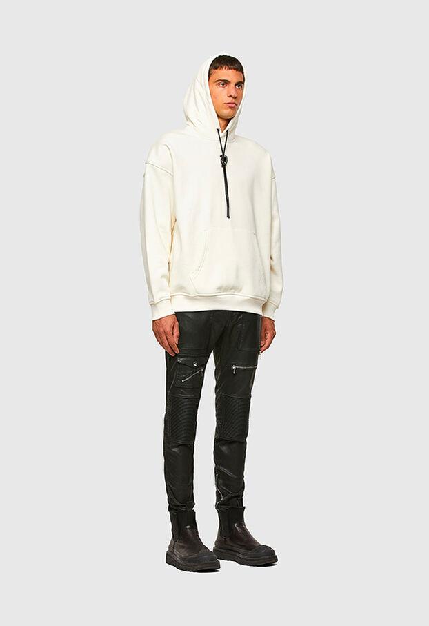 S-UMMER-N74, Blanc - Pull Cotton
