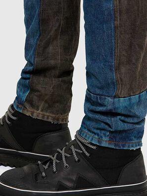 D-Kras 009EA, Noir/Gris foncé - Jeans