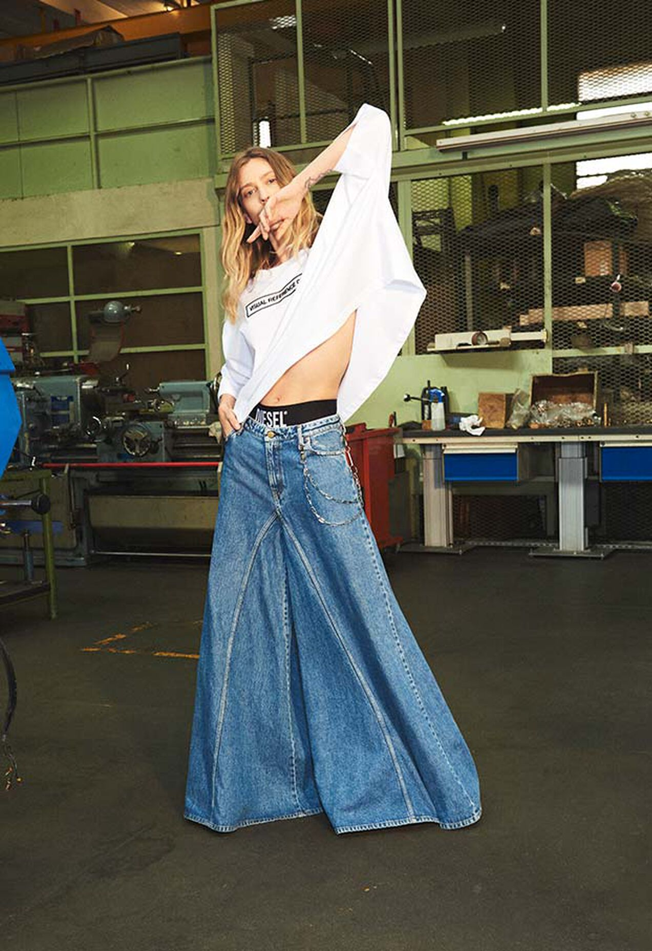 D-Spritzz 009IJ, Bleu moyen - Jeans