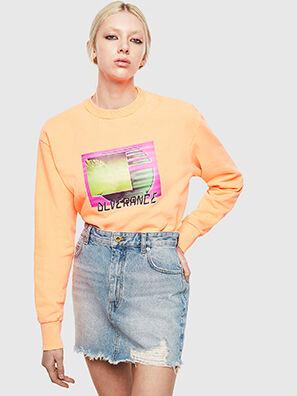 S-BIAY-FLUO, Orange - Pull Cotton