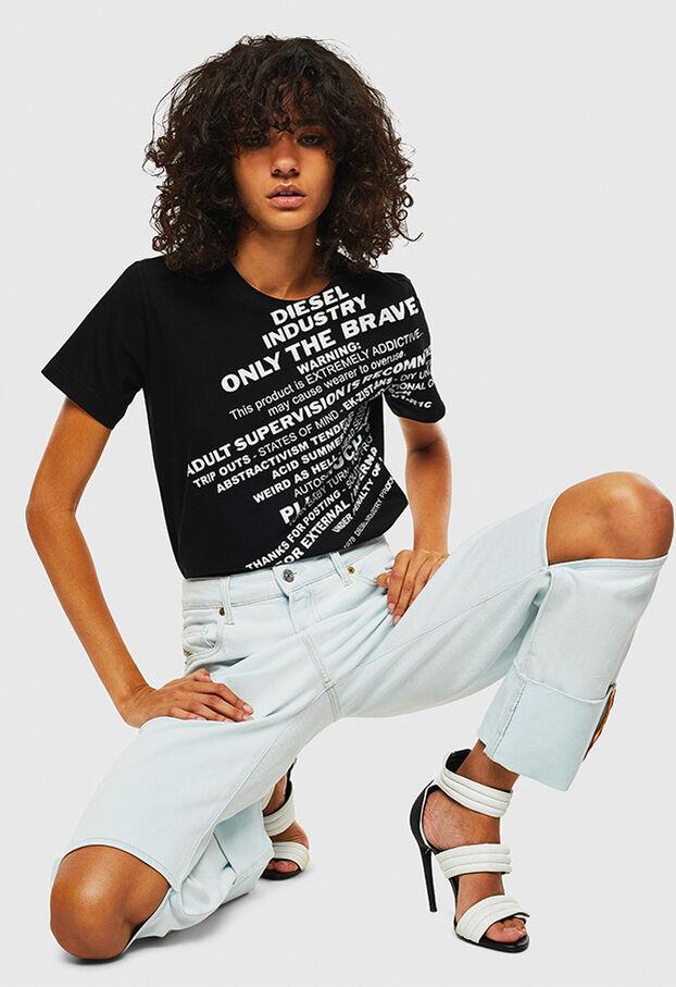 T-SILY-S1, Noir - T-Shirts