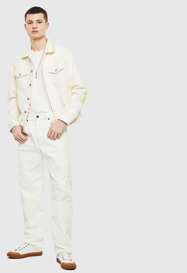 NHILL-SP, Blanc - Vestes en denim