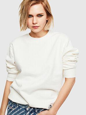 S-GIRK-WORK, Blanc - Pull Cotton