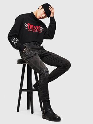 CL-Krooley-T-CB JoggJeans 069PK, Noir - Jeans