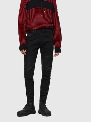 D-Strukt 0091W, Noir/Gris foncé - Jeans