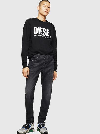 Diesel - Larkee-Beex 082AS, Noir/Gris foncé - Jeans - Image 5