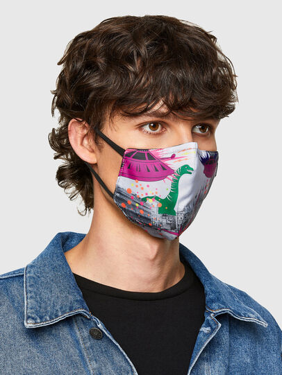 Diesel - VE-FACEMASK-SMARCO, Blanc - Other Accessories - Image 2