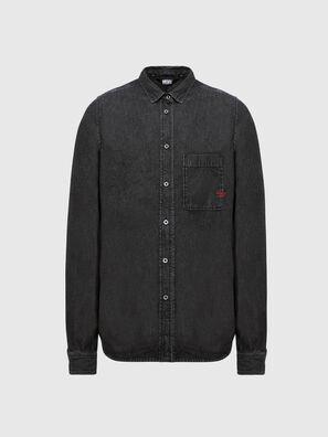 D-BILLY, Noir - Chemises en Denim