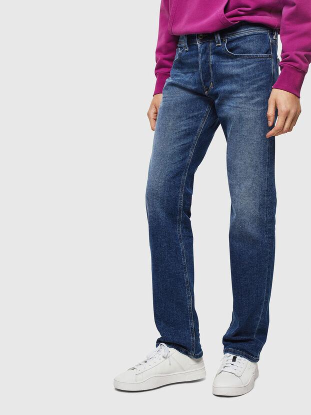 Larkee 0096E, Bleu moyen - Jeans