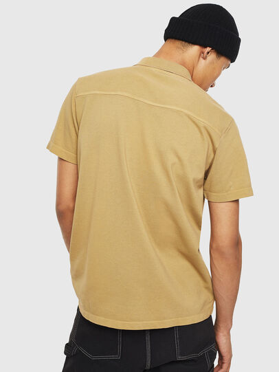 Diesel - T-POLO-WORKY, Marron Clair - Polos - Image 2