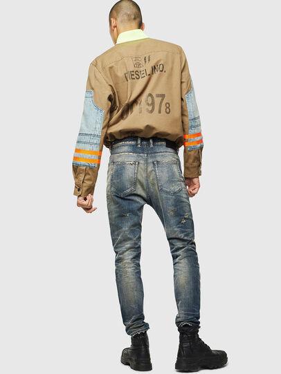 Diesel - D-Vider 0098S, Bleu moyen - Jeans - Image 6