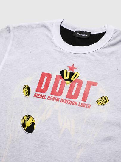 Diesel - TJUSTLAY, Blanc/Noir - T-shirts et Hauts - Image 3