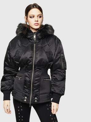 W-ISOKE-A, Noir - Vestes d'hiver