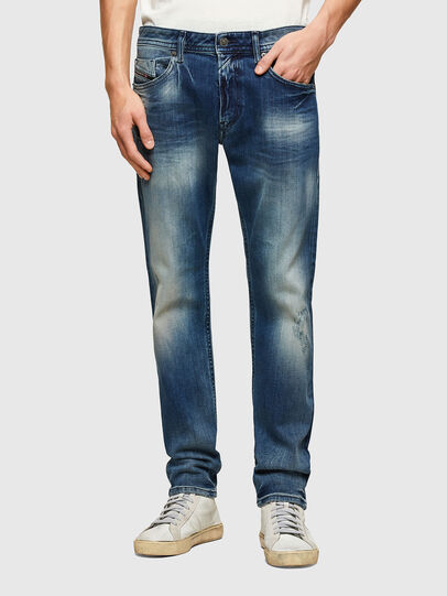 Diesel - Thommer 009RS, Bleu Foncé - Jeans - Image 1