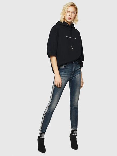 Diesel - Babhila High 069HN, Bleu Foncé - Jeans - Image 6