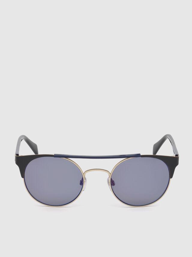 DL0218, Noir/Bleu