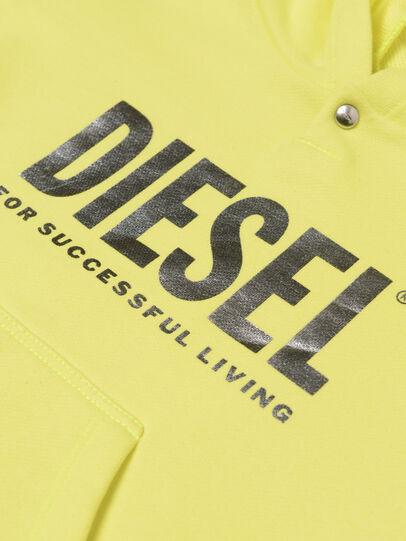 Diesel - DILSETB, Jaune - Robes - Image 3