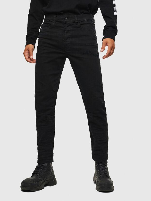 D-Eetar 069KH, Noir/Gris foncé - Jeans
